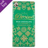 Divine Limited Edition Milk Chocolate with Caramel & Espresso Nibs - 100g