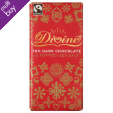 Divine Limited Edition Dark Chocolate with Toffee & Sea Salt - 100g