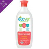 Ecover Washing Up Liquid Grapefruit & Green Tea - 1L