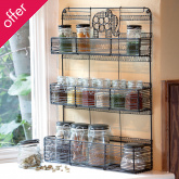 Elephant Spice Rack