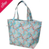 Recycled Paisley Large Shopping Bag