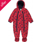 Billie Pram Suit Fire Engine Stars