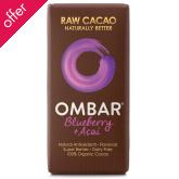 Ombar Raw Chocolate - Acai & Blueberry - 35g