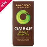 Ombar Raw Chocolate - Green Tea & Lemon - 35g