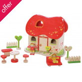 EverEarth Fairy Tale Wooden Doll House