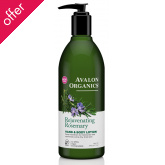 Avalon Organics Hand & Body Lotion - Rosemary - 340g