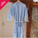 Fair Trade Blockprint Dressing Gown