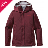 Patagonia Womens Torrentshell Jacket - Oxblood Red