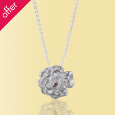Mosami Rose 'Love' Pendant Necklace