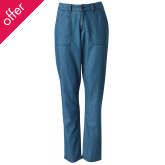 Loose Fit Organic Trousers