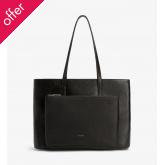 Matt & Nat Vegan Wes Shopping Bag - Black