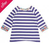 Sense Organics Dolores Reversible Long Sleeved Shirt - Purple