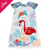 Sense Organics Salome Tropical Flower Dress