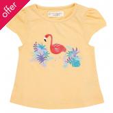 Sense Organics Gada Short Sleeved Flamingo Shirt - Pale Apricot
