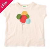 Slub Jersey Baby T-shirt - Up & Away