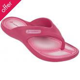 Rider Kids Cape VII Dry-Eco Foam Flip Flops - Pink