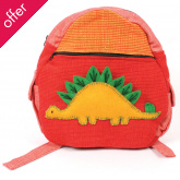 Fair Trade Children's Rucksack - Dinosaur