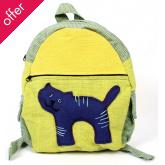 Fair Trade Children's Rucksack - Cat
