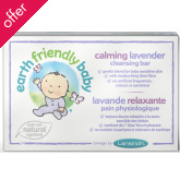 Earth Friendly Baby Lavender Cleansing Bar - 99g