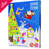 Dairy Free Milk Chocolate Advent Calendar 120g