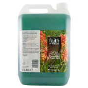 Faith In Nature Aloe Vera & Ylang Ylang Shower Gel and Bath Foam - 5L