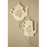Cream Tea & Coffee Pot Hooks - Set of 2
