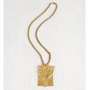 La Jewellery Recycled Brass Tatiana Necklace