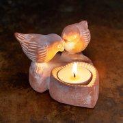 Love Birds Tealight Holder