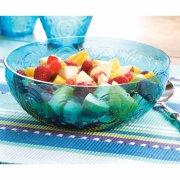 Vintage Design Glass Salad Bowl