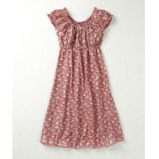 Nomads Rose Print Gypsy Dress