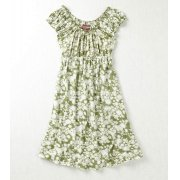 Nomads Daisy Print Gypsy Dress