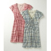 Komodo Organic Lola Grid Print Dress