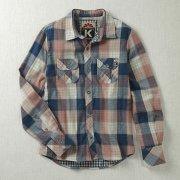 Komodo Organic Cotton Alex Check Shirt