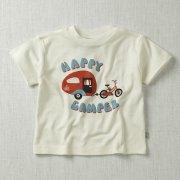 Happy Camper Short Sleeve T-Shirt (White)