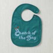Catch of The Day Bib (Turquoise)
