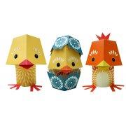 The Yolk Folk Paper Animals Kit