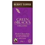 Green & Blacks Dark Chocolate with Burnt Toffee - 100g