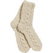 Chamonix Knitted Socks - Cream - One Size