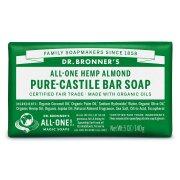 Dr Bronner Organic Almond Soap Bar - 140g