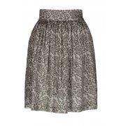 Nancy Dee Sadie Silver Rose Print Skirt