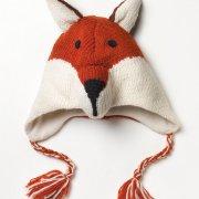 Kid's Fair Trade Fox Chullo Hat - One Size