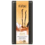 Vivani Organic White Chocolate  & Vanilla - 100g