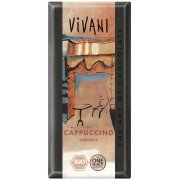 Vivani Organic Milk & White Cappuccino Chocolate - 100g