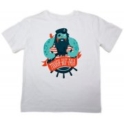 The Fableists 'Tough But Fair' Organic Unisex T-Shirt - White