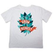 The Fableists 'Grow Honest' Organic Unisex T-Shirt - White
