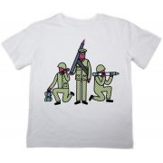 The Fableists 'Make Art Not War' Organic Unisex T-Shirt - White
