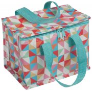 Recycled Lunch Bag Geometric