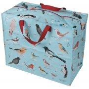 Recycled Jumbo Storage Bag Garden Birds