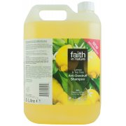 Faith in Nature Anti-Dandruff Shampoo - Lemon & Tea Tree - 5L