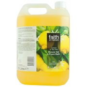 Faith in Nature Shower Gel & Bath Foam - Lemon & Tea Tree - 5L